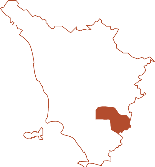 Montalcino and Montepulciano